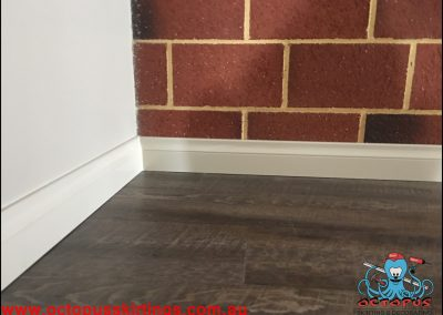 Brick wall and corner skirting - Octopus Skirting Boards Australia