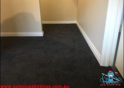 Dark carpet and white skirting board 3 - Octopus Skirting Boards