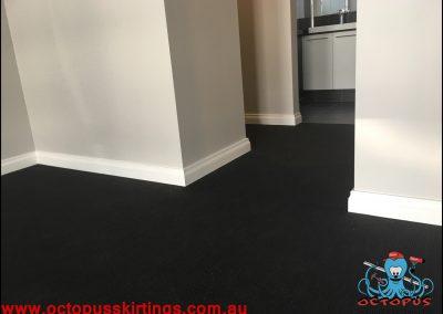Dark carpet and white skirting board 5 - Octopus Skirting Boards