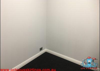 Dark carpet and white skirting board7 - Octopus Skirting Boards