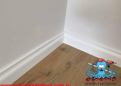 Lamb Tongue skirting boards with protective plastic corners Perth, Malaga - Octopus Skirting Boards (14)