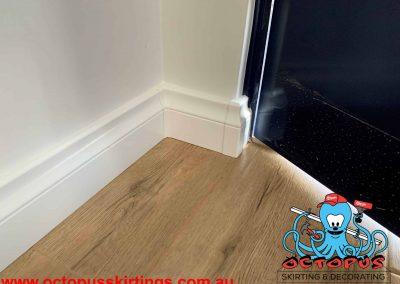 Lamb Tongue skirting boards with protective plastic corners Perth, Malaga - Octopus Skirting Boards (20)